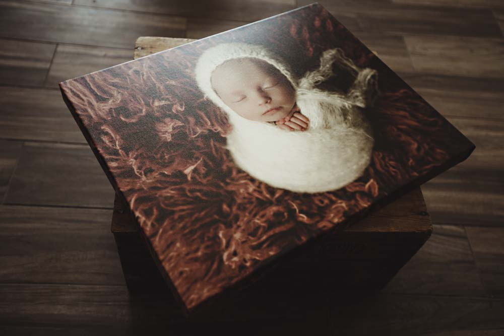canvas of baby